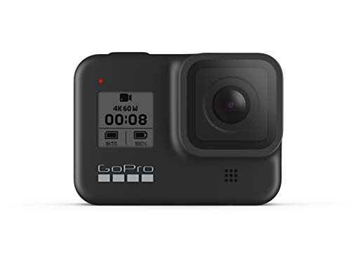 GoPro HERO8 Actioncam, Black - Wasserdichte 4K-Digitalkamera mit Hypersmooth-Stabilisierung, Touchscreen...