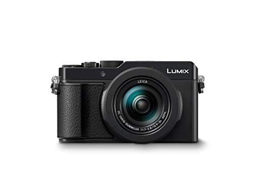Panasonic LUMIX DC-LX100II Premium Digitalkamera (21,77 MP, 24-75mm Leica DC Vario Summilux Objektiv,...
