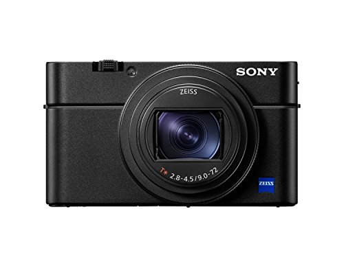 Sony RX100 VI Premium Kompakt Digitalkamera (20,1 MP, 7,6 cm (3 Zoll) Display, 1 Zoll Sensor, 24-200 mm...