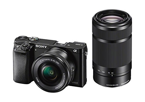 Sony Alpha 6000 Systemkamera (24 Megapixel, 7,6 cm (3') LCD-Display, Exmor APS-C Sensor, Full-HD, High...