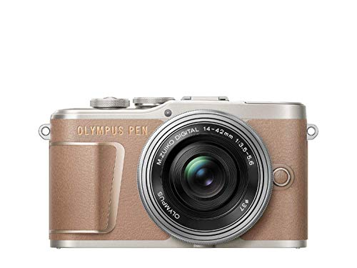 Olympus PEN E-PL10 Micro Four Thirds System Kamera Kit inkl. 14-42mm M.Zuiko EZ Objektiv,...