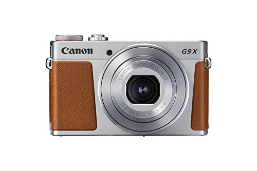 Canon PowerShot G9 X Mark II Kompaktkamera (20,1 MP, 7,5cm (3 Zoll) Display, WLAN, NFC, 1080p, Full HD)...