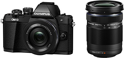 Olympus OM-D E-M10 Mark II Kit, Micro Four Thirds Systemkamera, M.Zuiko Digital ED 14-42 mm F3.5-5.6 EZ...