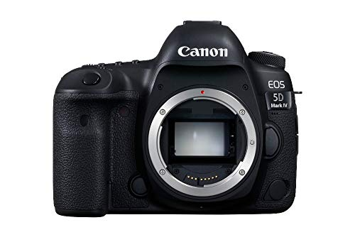 Canon EOS 5D Mark IV SLR-Digitalkamera (30,4 MP, 8,1 cm (3 Zoll) Touchscreen-LCD, DIGIC 6+, Dual Pixel...