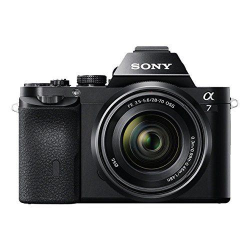 Sony Alpha 7 E-Mount Vollformat Digitalkamera ILCE-7 (24,3 Megapixel, 7,6cm (3 Zoll) LCD Display, BIONZ...