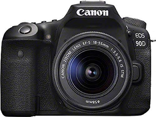 Canon EOS 90D Spiegelreflexkamera (32,5 MP, 7,7 cm (3 Zoll) Vari-Angle Touch LCD Display, APS-C Sensor,...