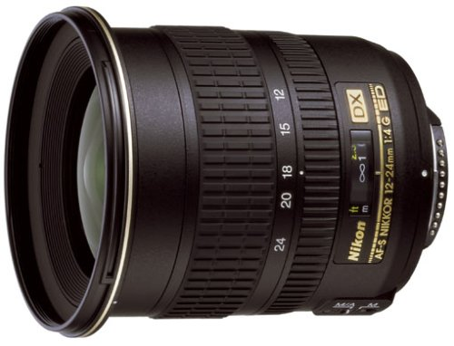 Nikon AF-S DX Zoom-Nikkor 12-24mm 1:4G IF-ED Objektiv (77mm Filtergewinde)