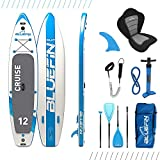 Bluefin Cruise SUP Board Set | Aufblasbares Stand Up Paddle Board | 6 Zoll Dick |...