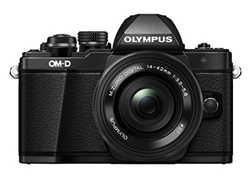 Olympus OM-D E-M10 Mark II Kit, Micro Four Thirds Systemkamera und M.Zuiko Digital ED 14-42 mm F3.5-5.6...