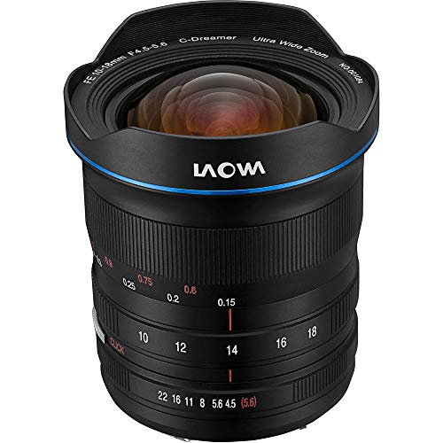 LAOWA 10-18 mm/F 4.5-5.6 FE Zoom Venus Optics Objektiv (Sony E-Mount-Anschluss)