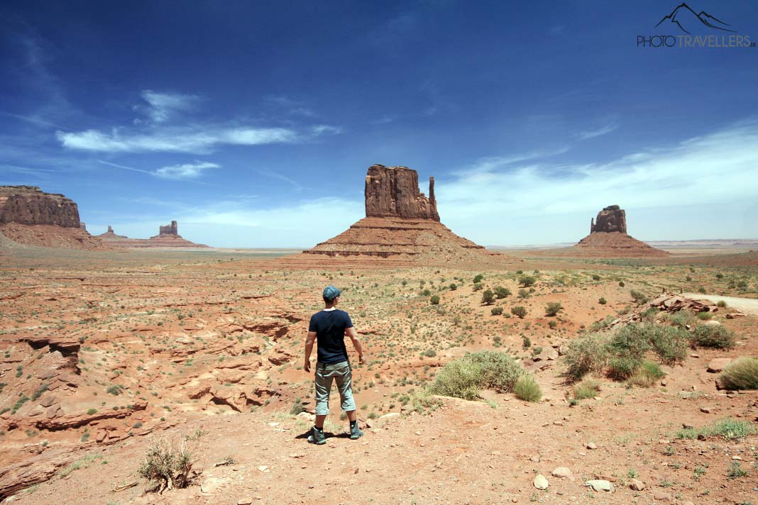 Blick ins Monument Valley