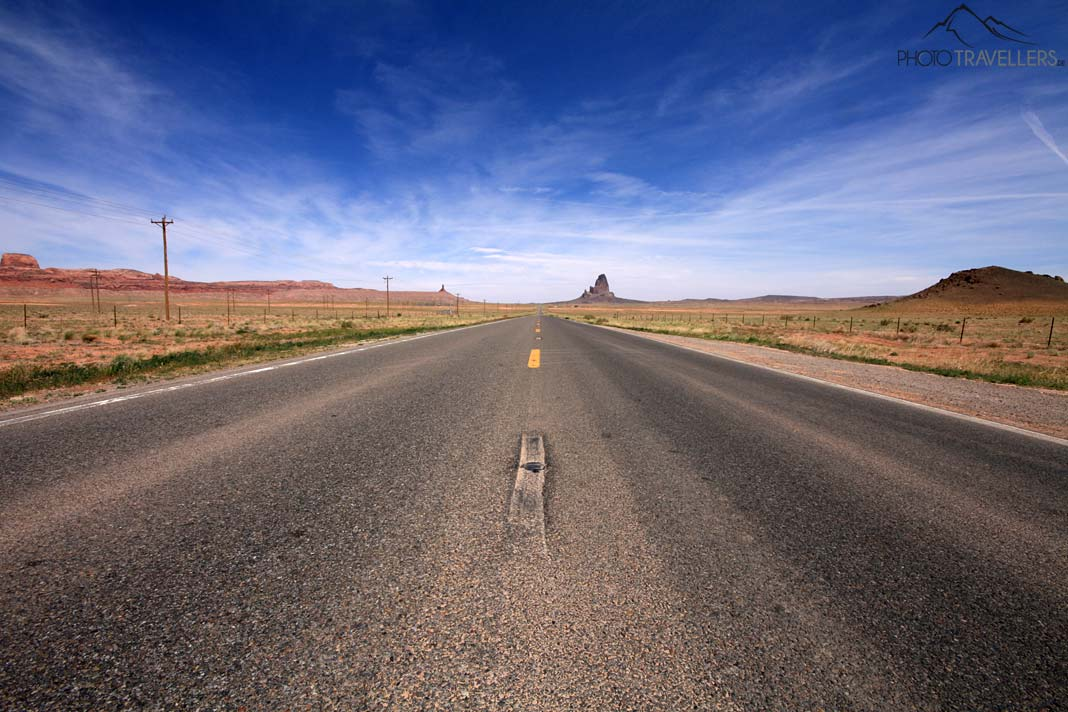 Highway ins Monument Valley