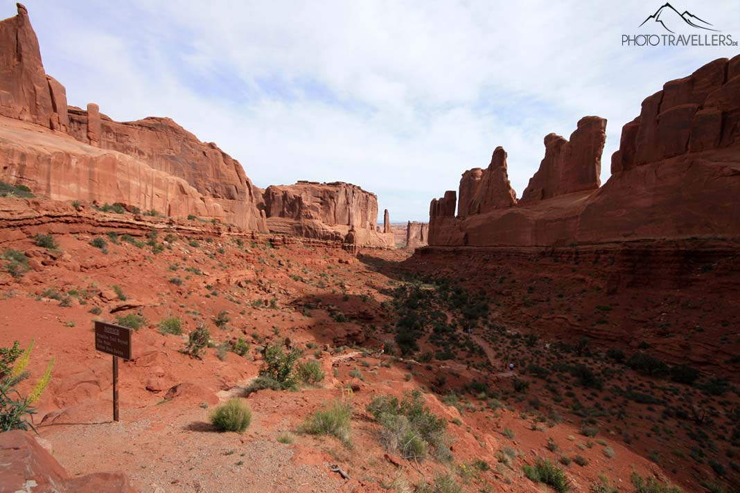 Park Avenue Viewpoint im Arches Nationalpark