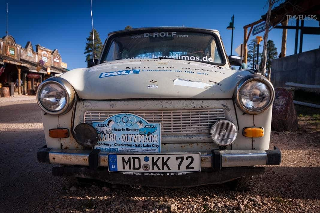 Trabi in Bryce Canyon City
