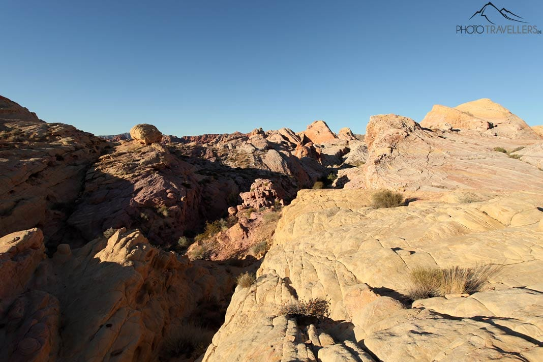 Muster im Valley of Fire