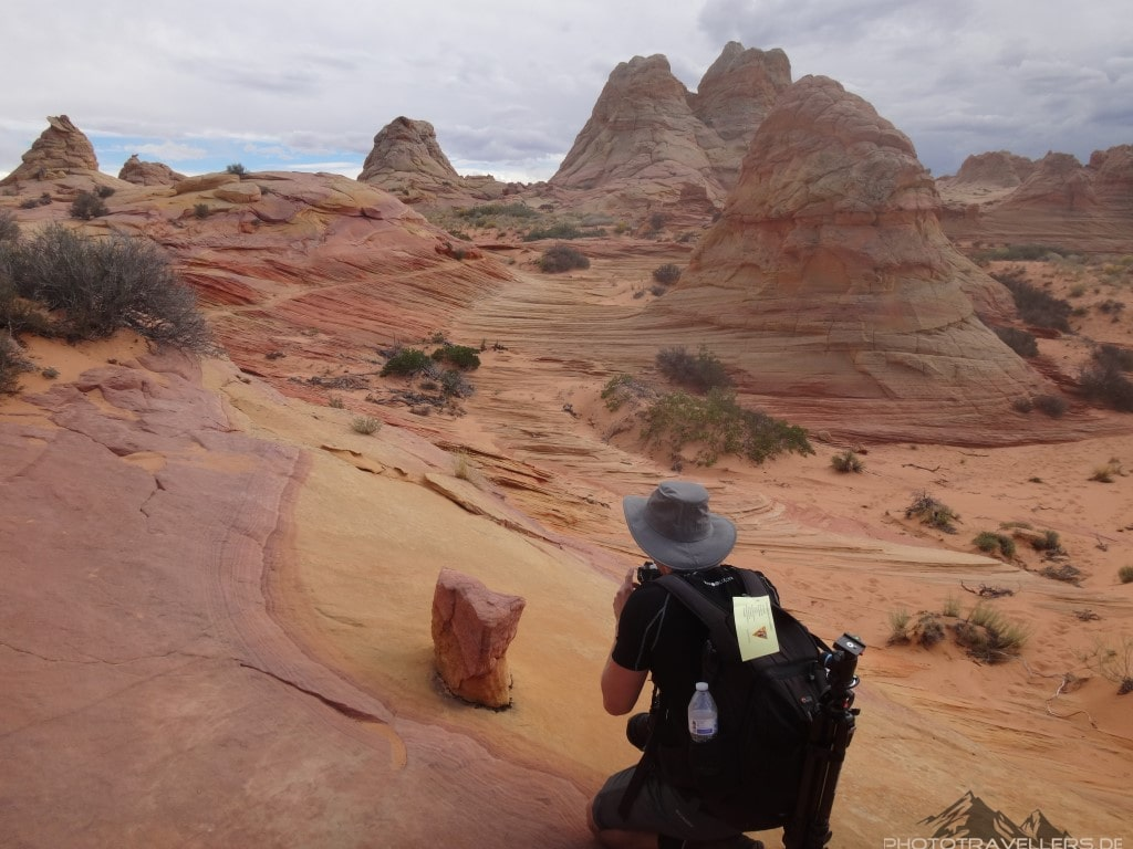 Florian Westermann in den Coyote Buttes South2