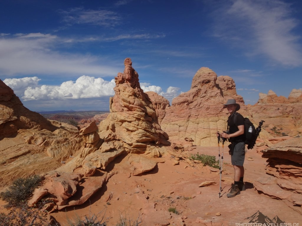 Florian Westermann in den Coyote Buttes South3