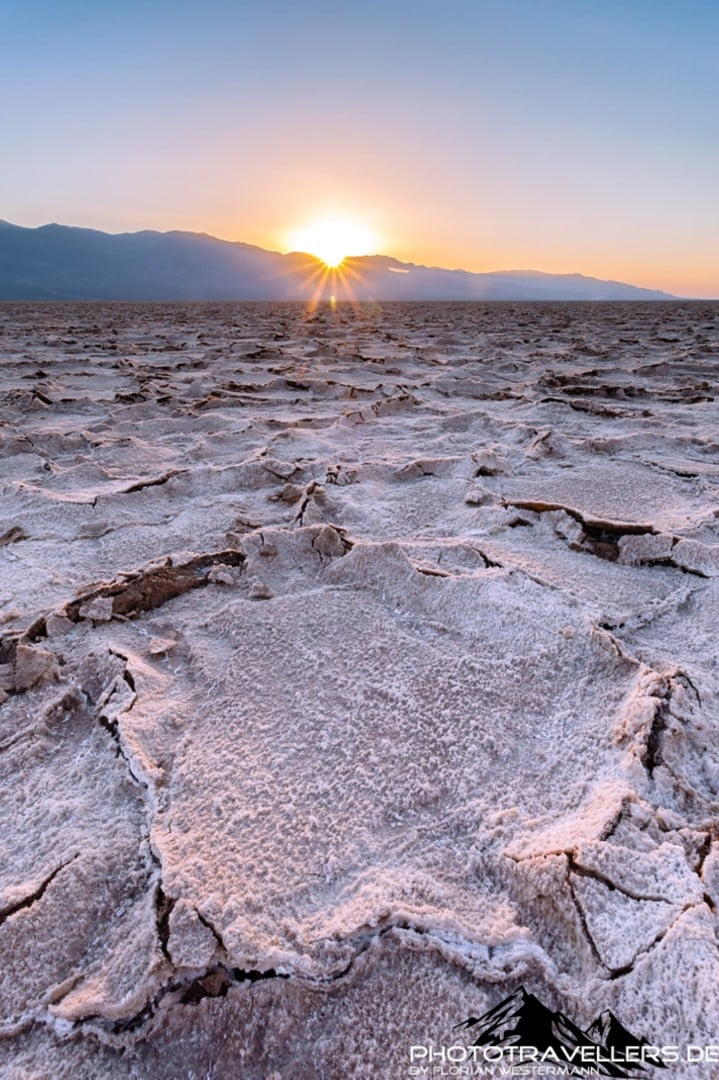 Sonnenuntergang im Death Valley