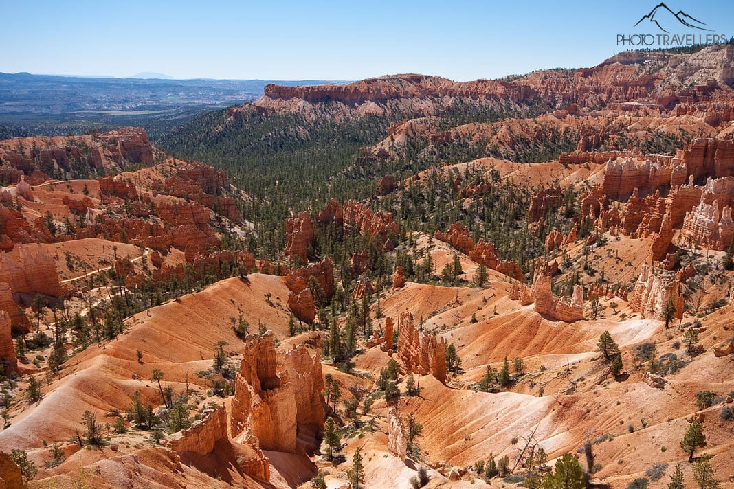 Blick in den imposanten Bryce Canyon