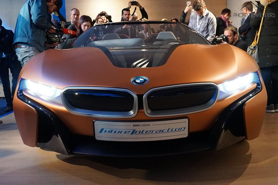 Der BMW iVision Future Interaction