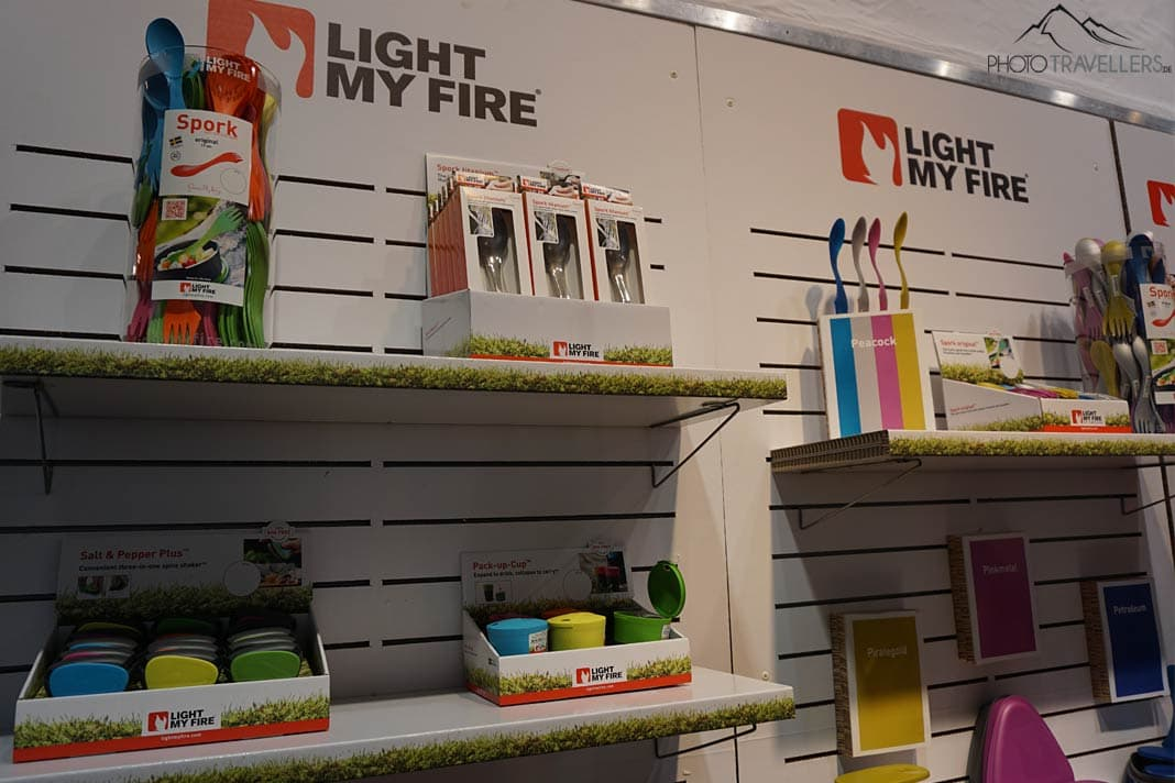 Am Stand von Light my Fire