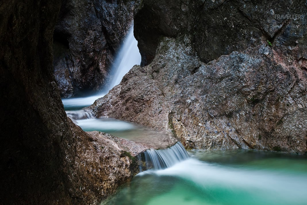 A long exposure in the Almbachklamm