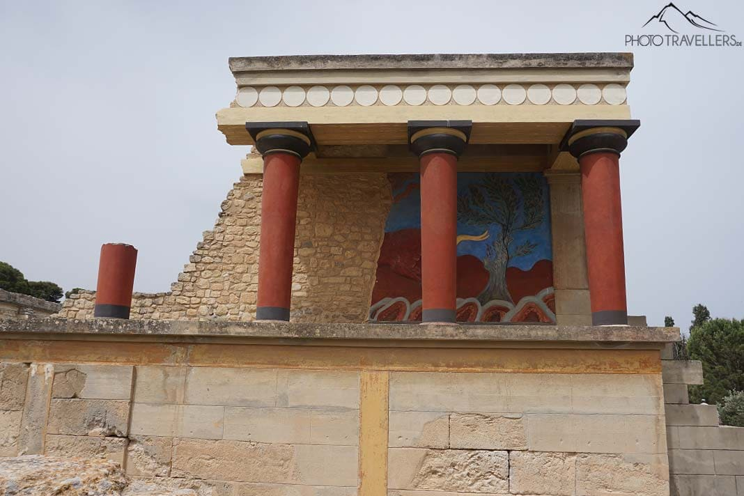 Palast in Knossos