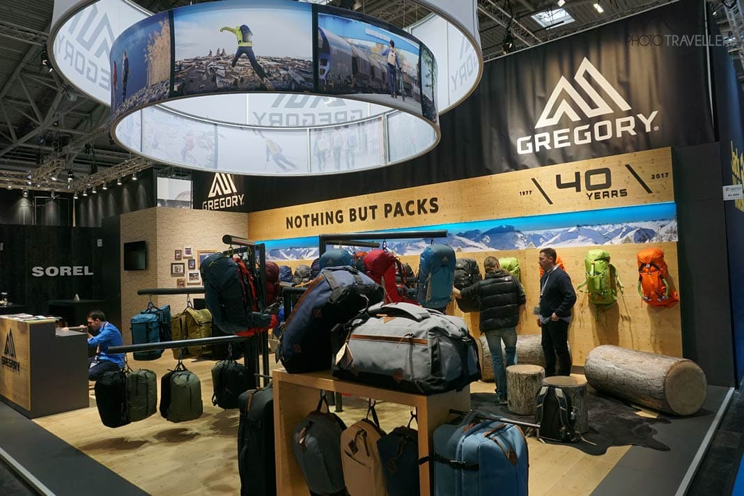 ISPO Stand Gregory