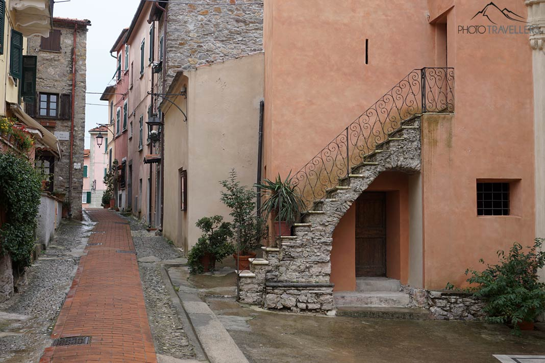 Gasse in Montemarcello