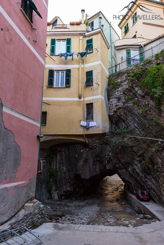 Tunnel in Vernazza