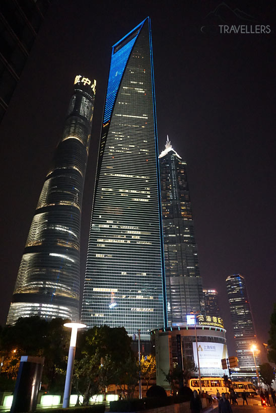 Shanghai Tower und Shanghai World Financial Center