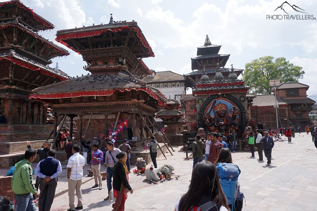 Pagoden im Durbar Square