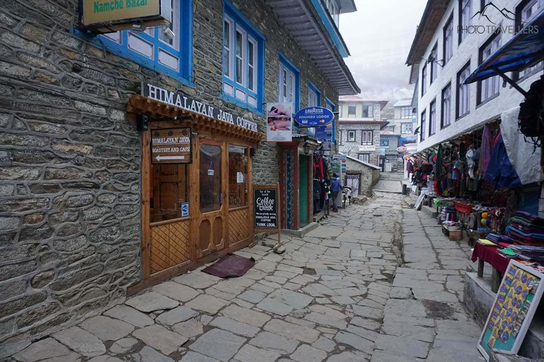 Himalayan Java Coffee in Namche Bazar