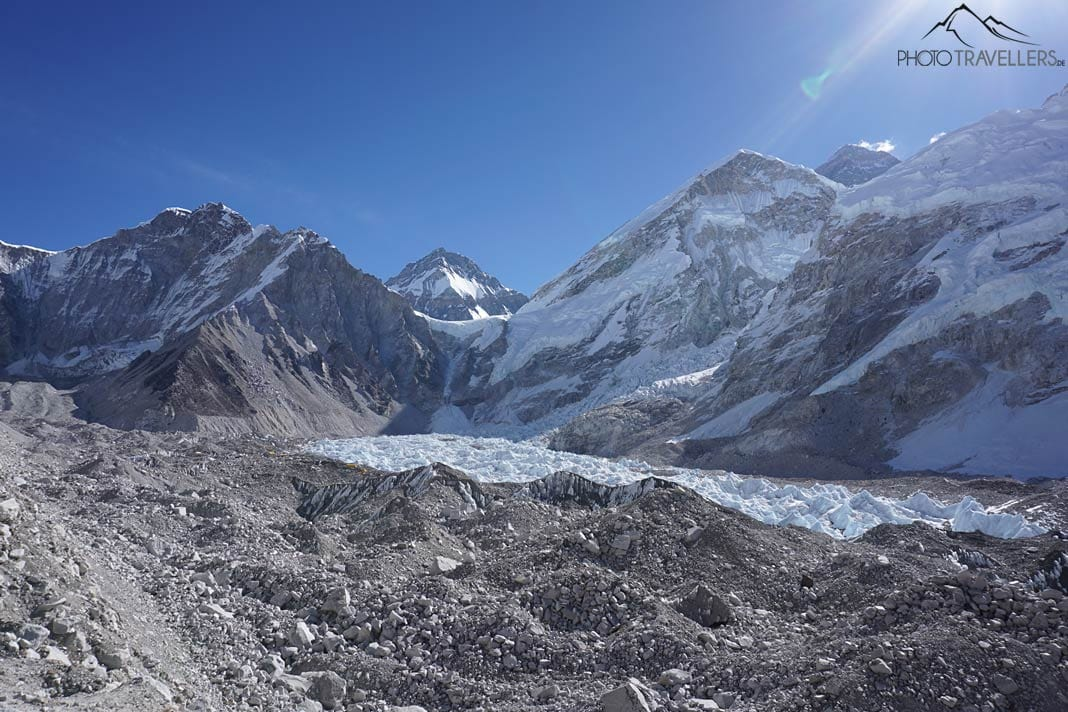 Everest Base Camp und Khumbu-Gletscher