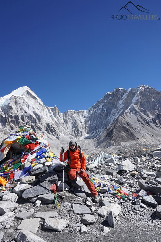 Gebetsfahnen Everest Base Camp