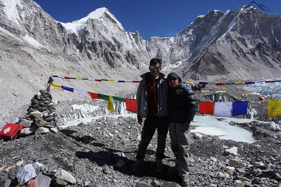 Guides am Everest Base Camp