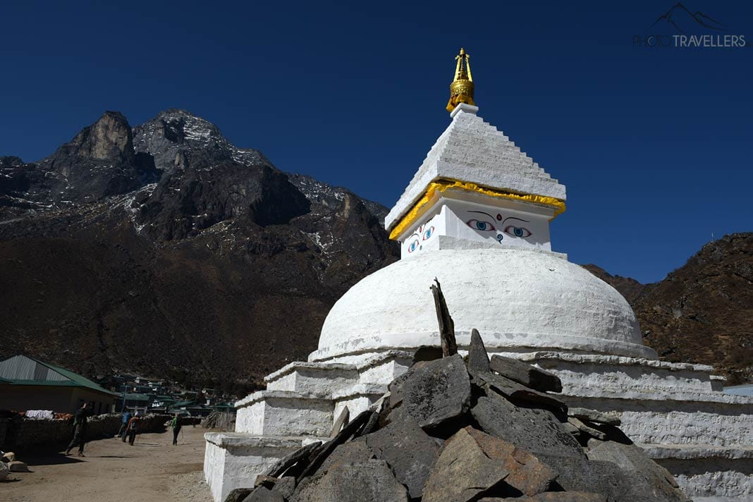 Stupa in Khumjung