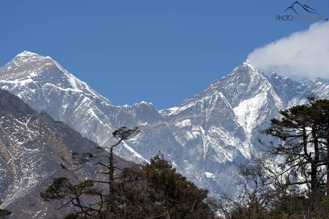 Mount Everestund Lhotse