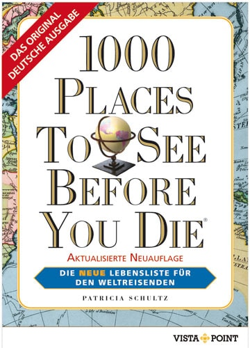 "Geschenkidee ""1000 places to see before you die"""