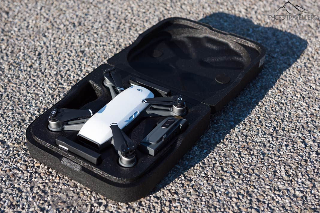 DJI Spark in Transportbox