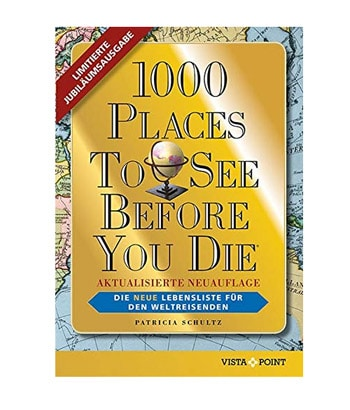 "Das Buch ""1000 places to see before you die"""