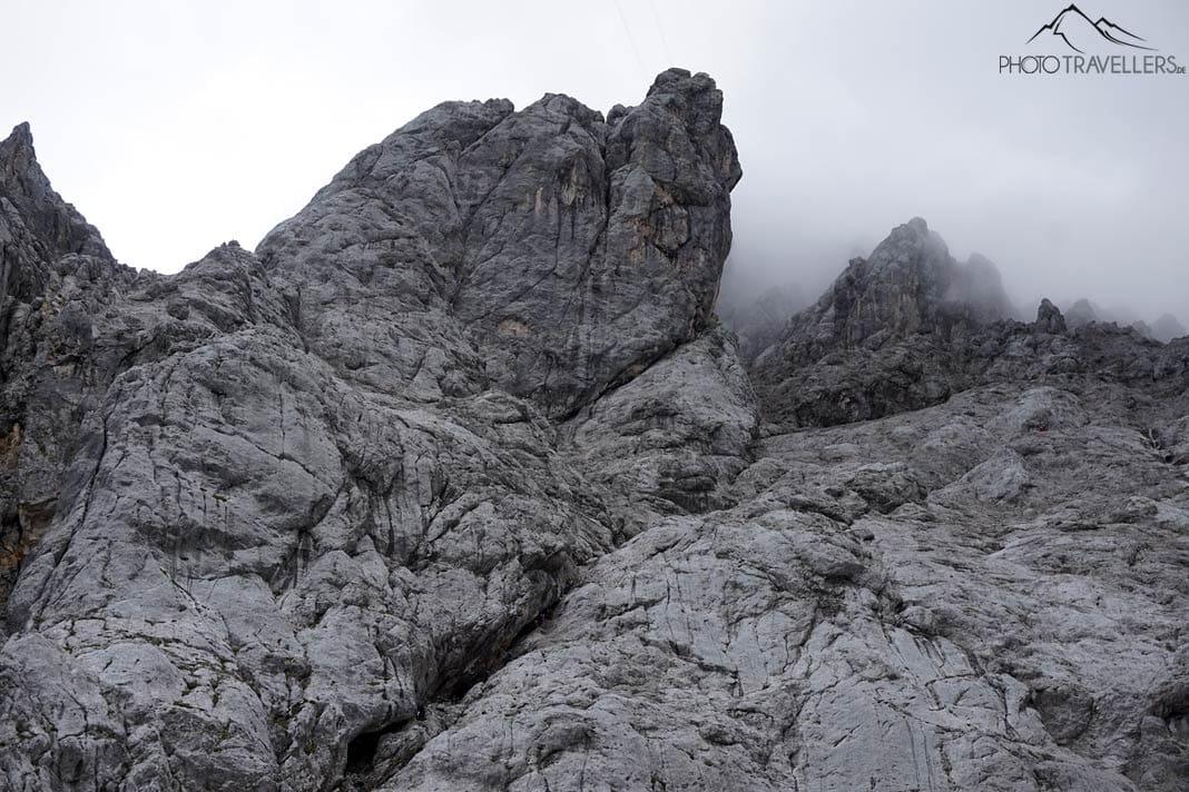 Bergsteiger im Stopselzieher