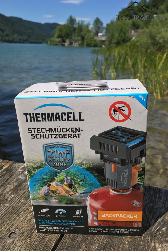 Thermacell-Verpackung
