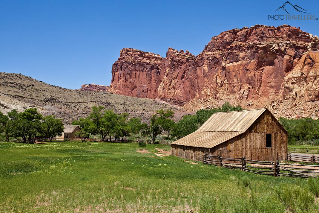 Farm im Capitol Reef Nationalpark