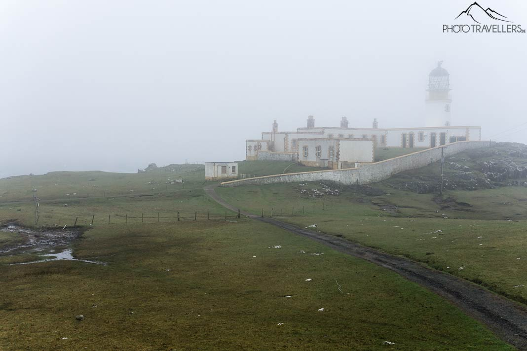 Neist Point im Nebel