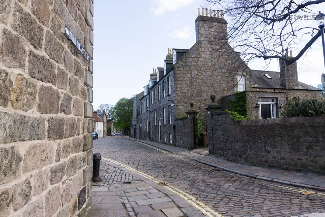 Gasse in Old Aberdeen
