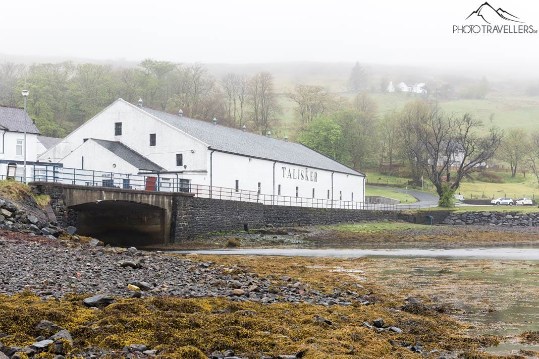 Whisky Distillery auf der Isle of Skye