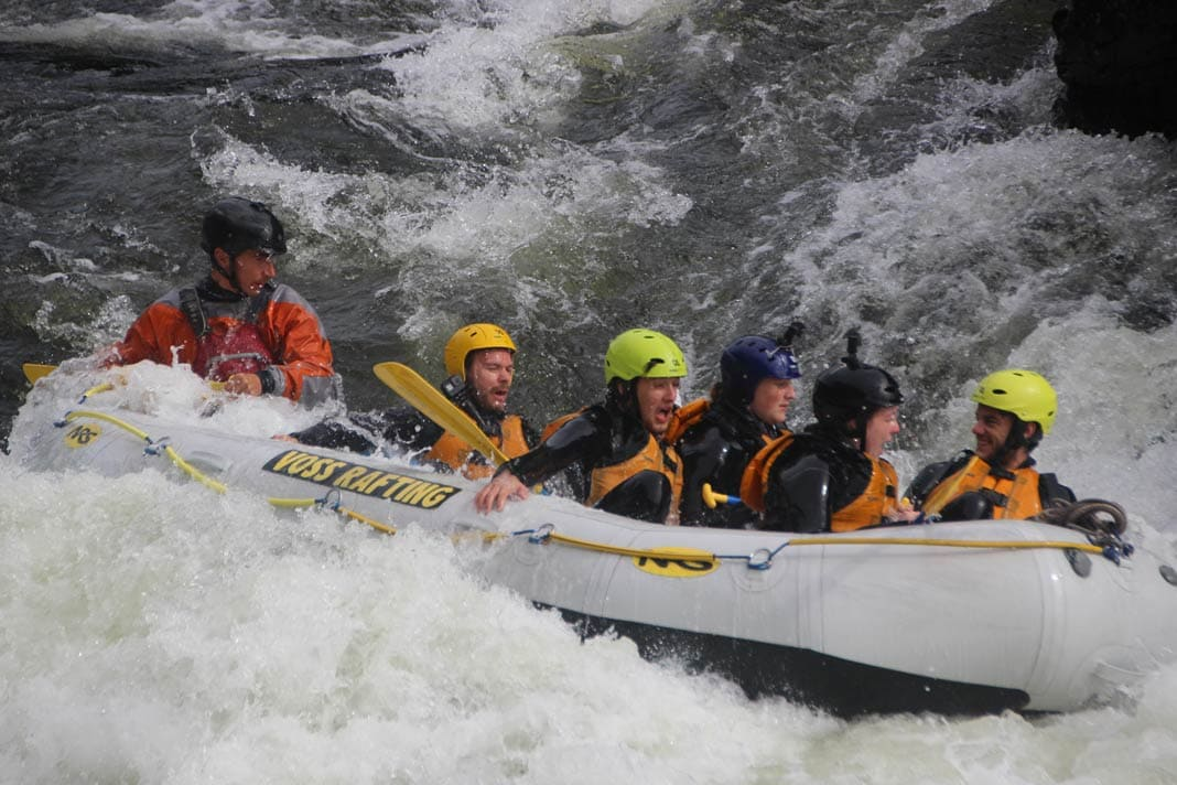 Rafting in Voss