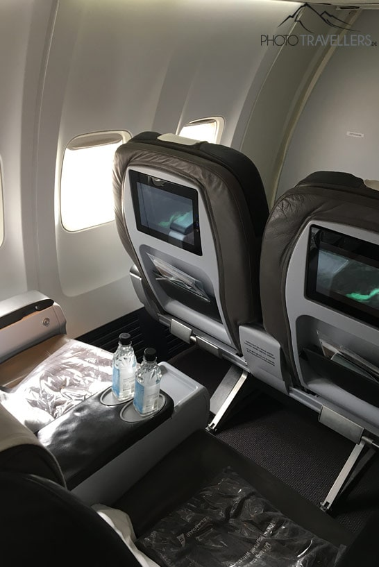Plätze in der Business-Class