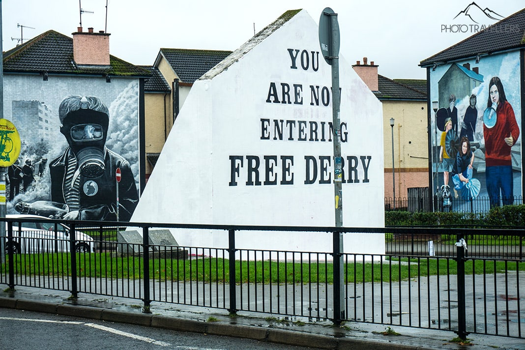 Graffiti in Derry